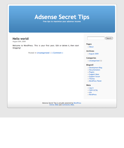 Adsense Secret Tips