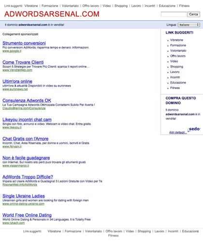 Adwordsarsenal.com - Le Migliori Risorse E Informazioni Sul Tema: Adwords Arsenal.questa Pagina è In Vendita!