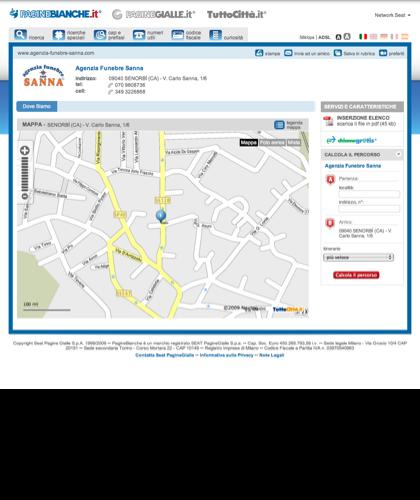 Agenzia Funebre Sanna - SenorbÌ (ca) | Paginebianche.it