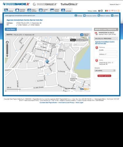 Visualizza I Dettagli Di Agenzia Immobiliare Centro Servizi Imm.sar  A Palau (ot) Su Paginebianche. |Agenzia Immobiliare Centro Servizi Imm.sar