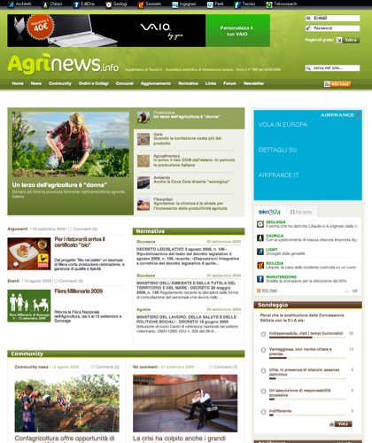 Agrinews.info - La Community Agraria Italiana