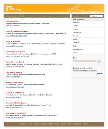 Aifst.org - Le Migliori Risorse E Informazioni Sul Tema: Aifst.questa Pagina è In Vendita!