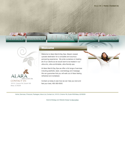 Alara Spa – Just Another Wordpress Site