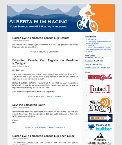 Alberta Mtb Racing