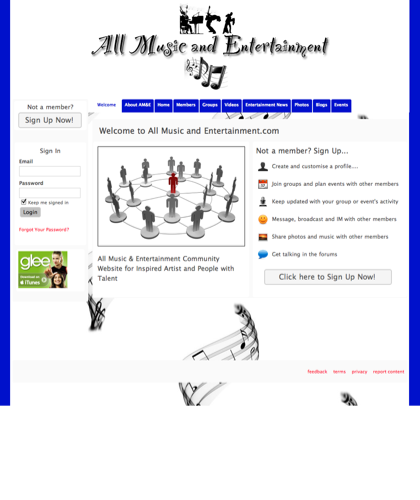 Welcome - All Music And Entertainment.com