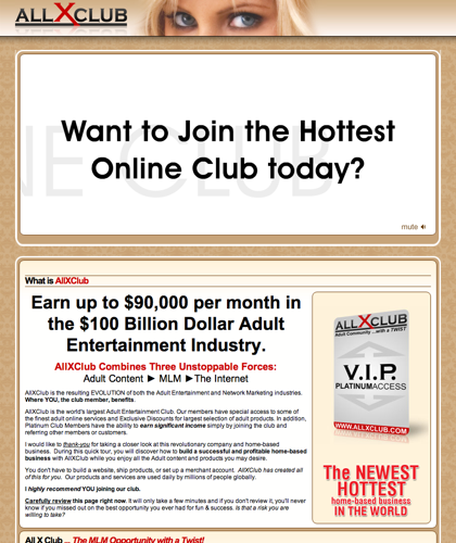 All X Club Is The Fusion Of Mlm And The Adult Industry.  Join The Hottest Mlm Opportunity In The Last Decade. |Allxclub,  All X Club,  Allx Club, All Xclub,  Mlm Opportunity, Mlm Business Opportunity