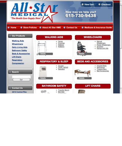 All Star Medical | Nashville Medical Supplies & Equipment