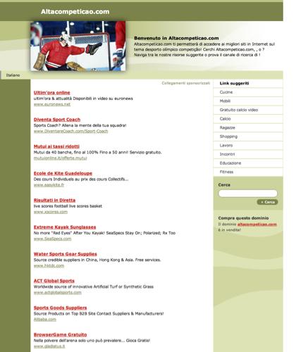 Altacompeticao.com - Le Migliori Risorse E Informazioni Sul Tema: Desporto Olímpico Competição.questa Pagina è In Vendita!