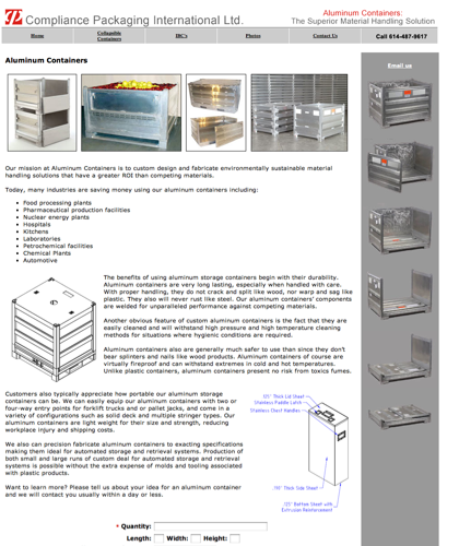 Aluminum Containers Improving The Supply Chain.