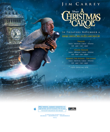A Christmas Carol - Movie Trailers - Itunes