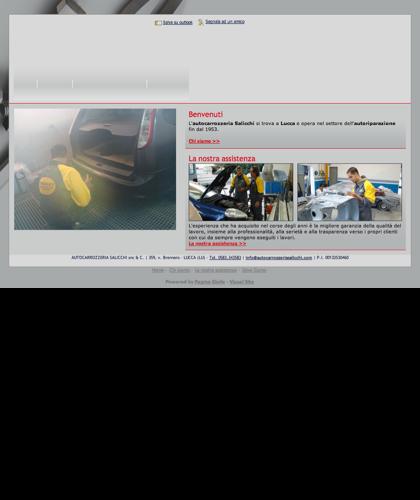 Carrozzeria Autorizzata Nissan - Lucca - Autocarrozzeria Salicchi