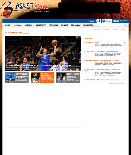 Baskettiamo - Baskettiamo - Basket Ti Amo Pallacanestro. Basketball. Legabasket. Campionato Italiano Basket. Eurolega. Fip. International Championship Basket Ball.