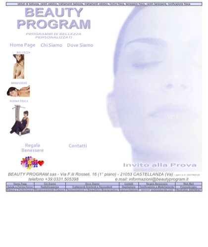 Beauty Program Istituto Di Bellezza