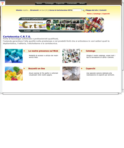 C.r.t.s. Cartotecnica, Industria Cartotecnica Scafati-salerno