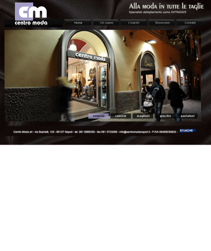 Centro Moda Napoli – Specialisti Abbigliamento Uomo Extrasize
