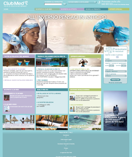 Offerte Viaggi E Villaggi Turistici – Club Med