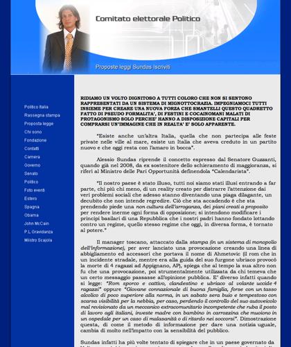 Politiico Italy,camera Dei Deputati Partito Politico Alessio Sundas Legge Sundas 49.000 Con Sundas