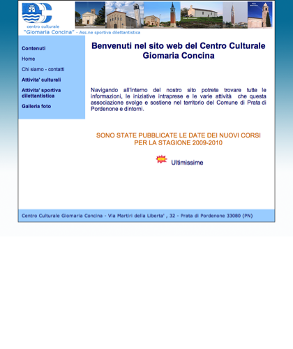 Home | Centro Culturale Giomaria Concina