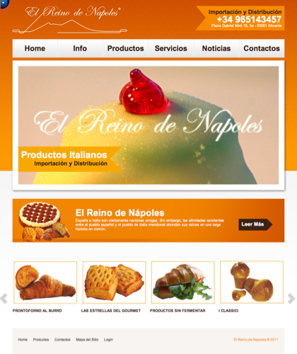 El Reino De Napoles - El Reino De Napoles - Importaci�n Y Distribuci�n, Productos Italianos