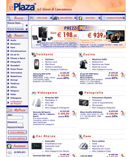 Eplaza.it: Informatica, Elettrodomestici, Video, Telefonia, Fotografia, Audio, Giocattoli E Tanto Altro Dei Migliori Marchi Con Promozioni, Sconti E Prezzi Imbattibili|