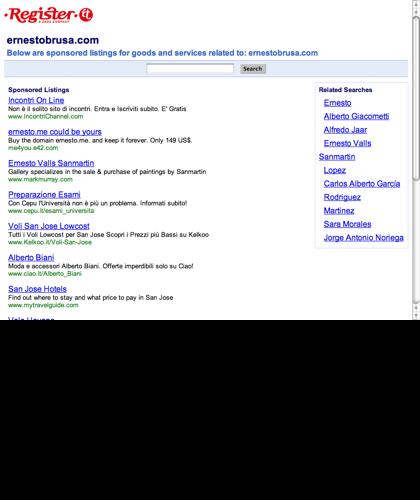 Home Page - Ernesto Brusa - Mastro Confettiere E Pasticciere