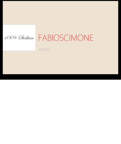 Fabioscimone - 100% Sicilian