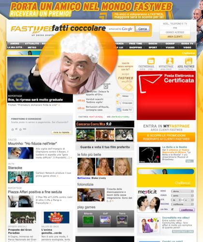 Fastweb - Adsl, Fibra Ottica, Telefono E Tv