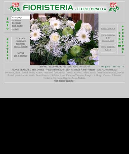 Fioristeria Clerici - Fiori E Addobbi Floreali Solbiate Arno (va)