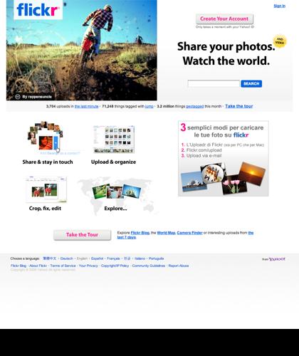 Benvenuto In Flickr - Condivisione Di Foto