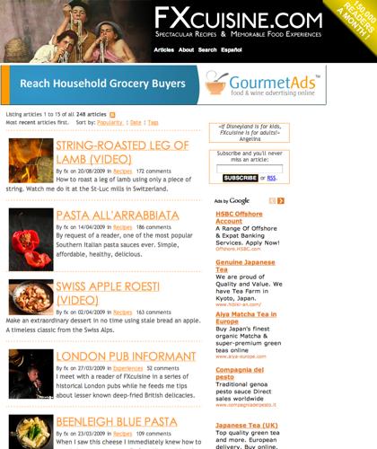 Fxcuisine.com >> Home