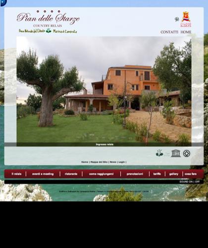 Cilento - Hotel Relais Pian Delle Starze - Home