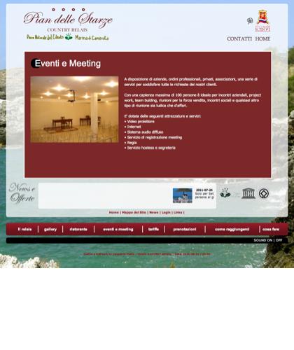 Sala Congressi E Meeting - Hotel Relais Pian Delle Starze - Intro