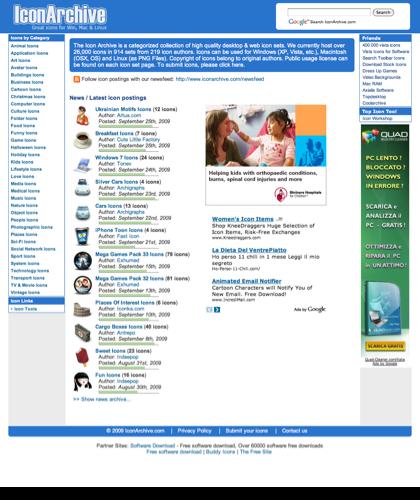 Icon Archive - 26,200+ Free Icons, Buddy Icons, Xp Icons, Vista Icons, Desktop Icons, Aim Icons