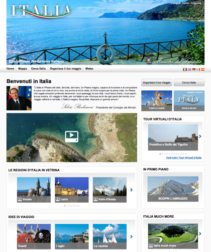 Italian Tourism Official Website - italia.it