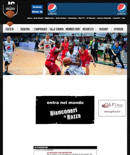 Basket Pepsi Caserta Home - Juvecaserta - Basket Juventus Caserta Pallacanestro. Associazione Sportiva, Campionato Italiano Basket. International Championship Basket Ball.