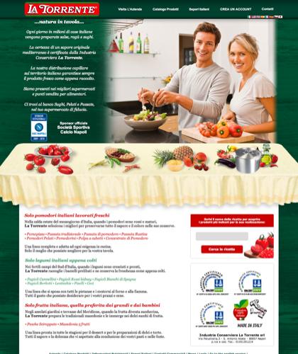 Pomodori Italiani La Torrente - La Torrente -  - Pomodori Pelati, Passata Di Pomodoro, Polpa Di Pomodoro, Concentrato Di Pomodoro, Legumi, Frutta Sciroppata, Sughi E Salse