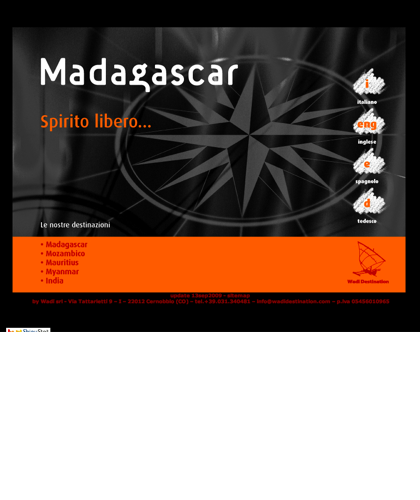 Www.madagascar.it: Homepage
