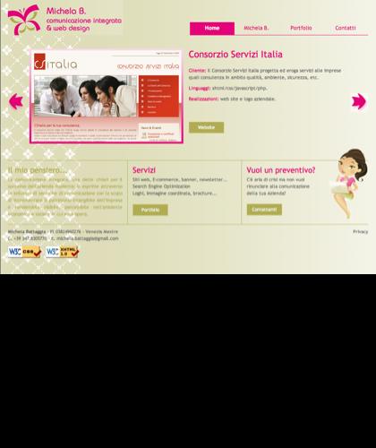 ...: Per La Tua Comunicazione Pubblicitaria E Web Design - Michela Battaggia Portfolio :...