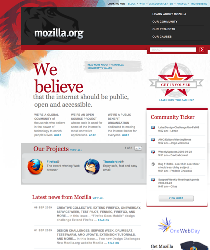 We're Building A Better Internet — Mozilla