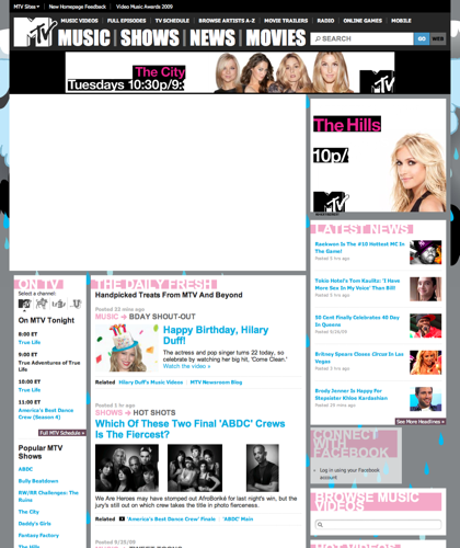 Watch The Latest Music Video From Your Favorite Artists. Get Up To Date Celebrity And Music News. See Episodes Of Your Favorite Mtv Reality Show. Go Into Overdrive To View Featured Videos On Mtv.com|Music,  Video,  Reality,  Tv,  Shows,  Celebrity,  News,  Top,  Stories,  New,  Artist,  Hip,  Hop,  Rock,  Pop,  Indie,  Soul,  R&b,  New,  Premier,  Mobile,  Ringtones,  Phones,  Mtv