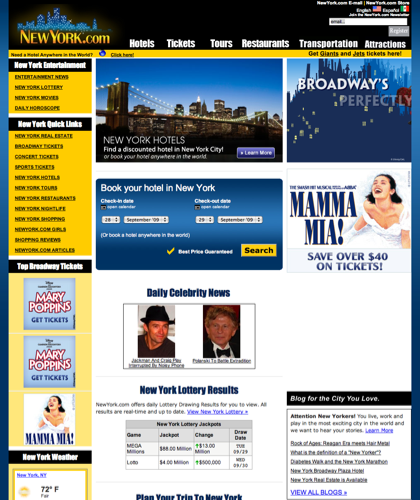 Newyork.com | New York City Hotels, Restaurants, And Broadway Tickets.