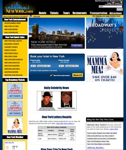 Newyork.com | New York City Hotels, Restaurants, And Broadway Tickets.