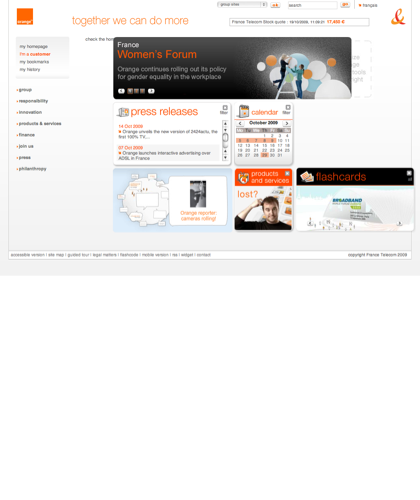 Orange.com : Corporate Website Of France Telecom-orange