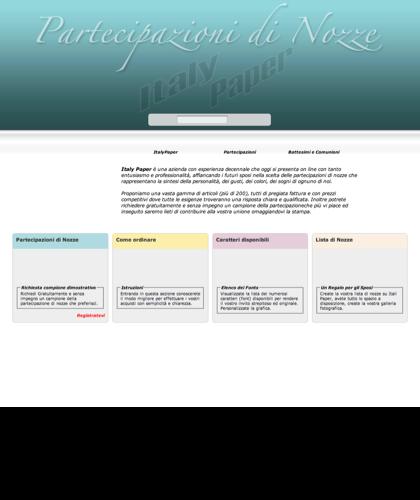 Partecipazioni Di Nozze - Italy Paper -  Inviti Per Sposi, Comunioni, Battesimi, Compleanni E Cerimonie - Cartoncini Di Invito - Partecipazioni Personalizzabili. Personalizzazione Grafica E Stampa Immediata.