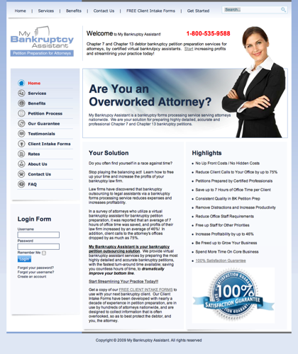 Bankruptcy Petition Preparation, Virtual Bankruptcy Assistant, Chapter 7 13