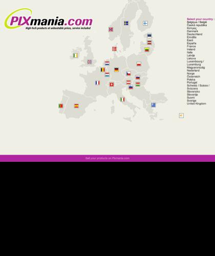 Pixmania: Negozio Online Materiale Informatico, Foto, Elettrodomestici
