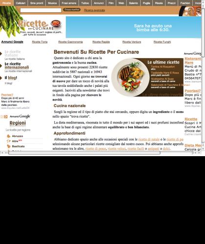 Ricette Di Cucina Nazionali Ed Internazionali - Ricette Facili E Veloci