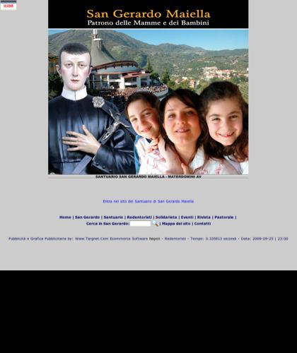 Introduzione - San Gerardo - Benvenuti Sul Portale Del Santuario Di San Gerardo Maiella, Il Santo Delle Mamme E Dei Bambini