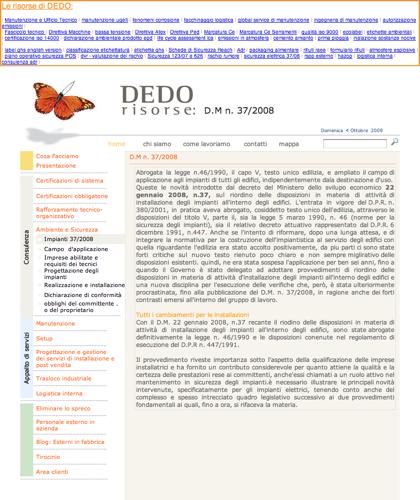 Dm 37/2008 - Progettazione Degli Impianti - Realizzazione E Installazione