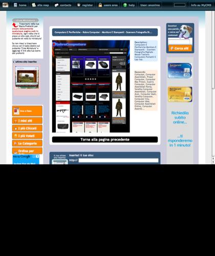 Computers E Periferiche  - Kobra Computer -  Monitors E Stampanti - Scanners Fotografia Di... Icone Siti Web Miniature - Thumbnails